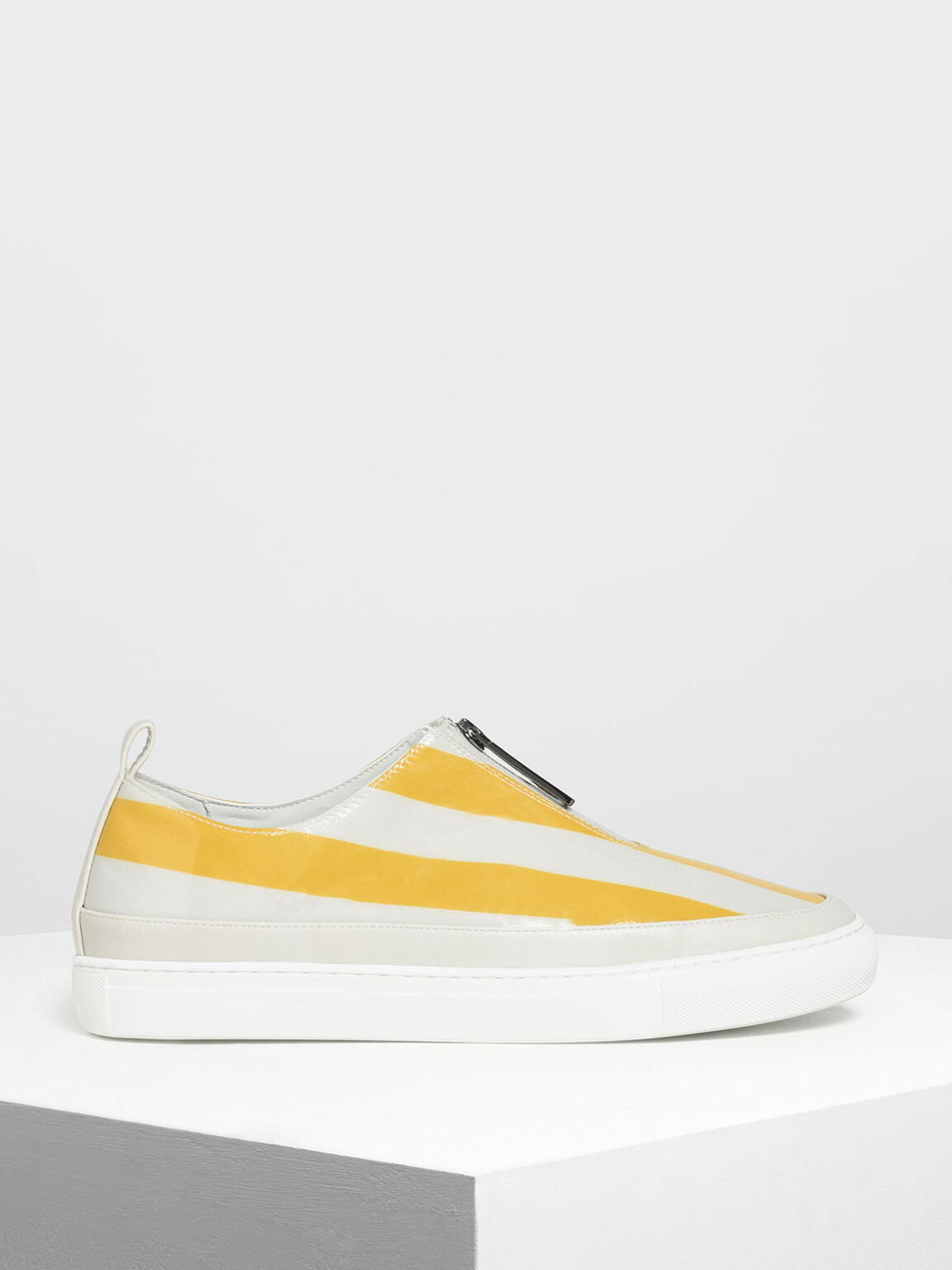 Zipper Detail Sneakers, Multi, hi-res