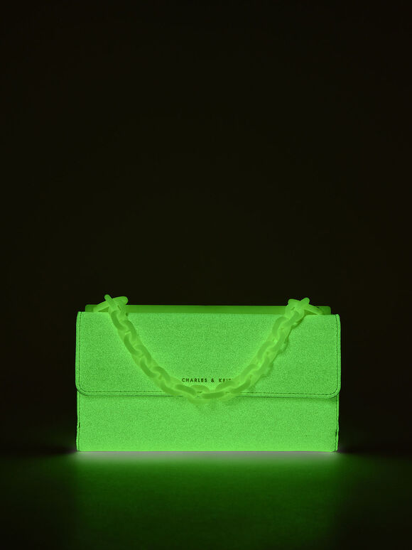 Glow-In-The-Dark Wallet, Butter, hi-res