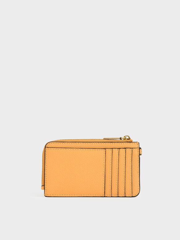 Multi-Slot Wristlet Card Holder, Mustard, hi-res