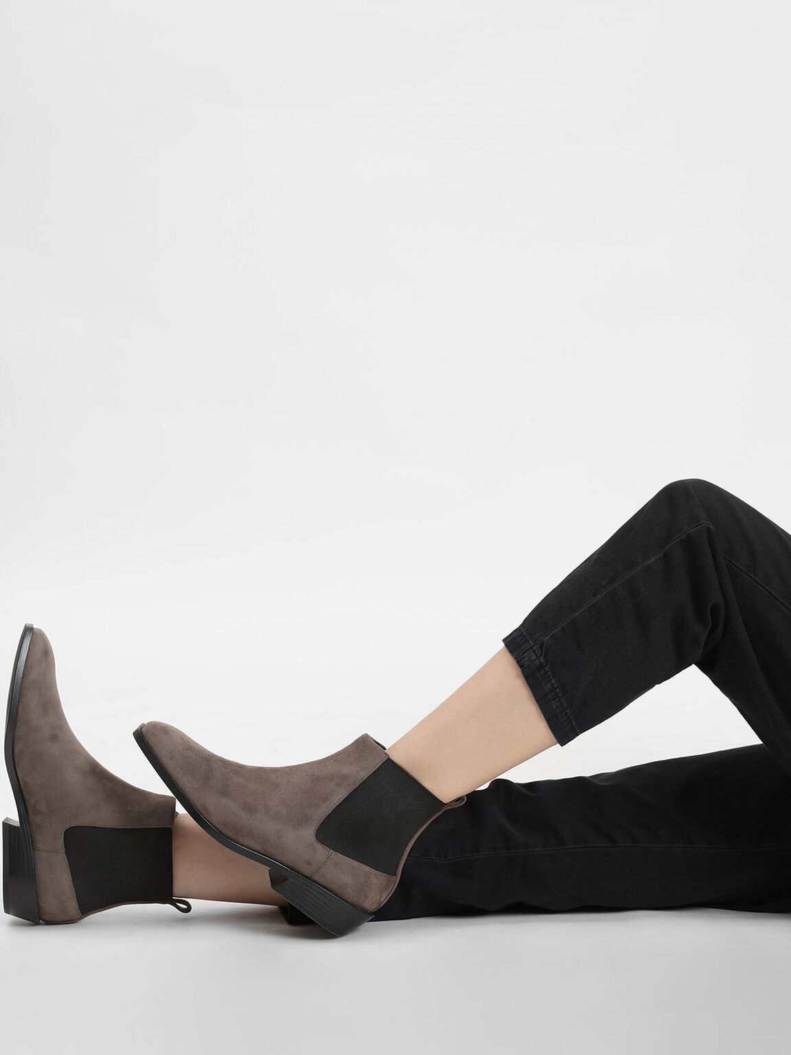 Classic Ankle Boots, Taupe, hi-res