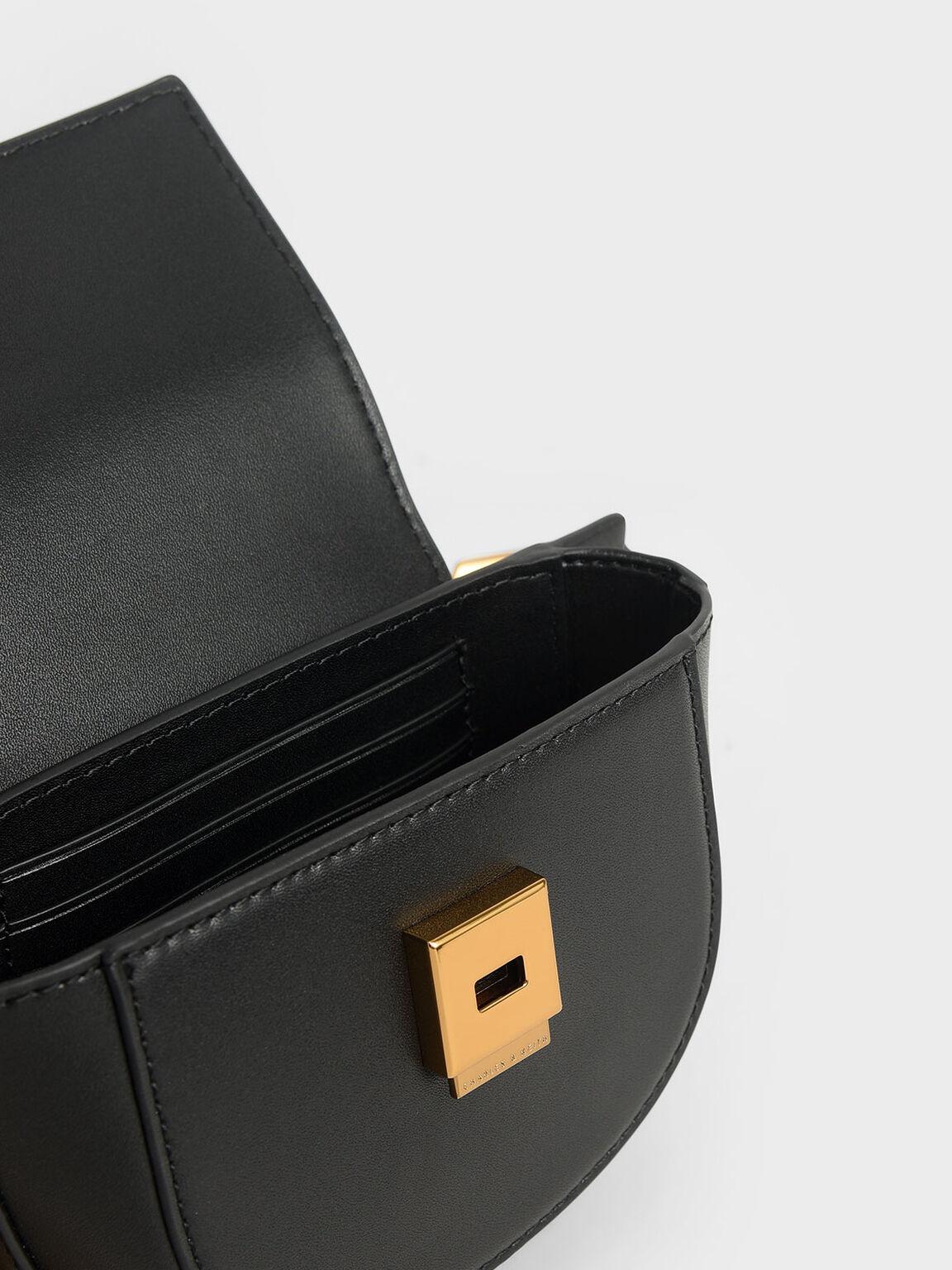 Mini Saddle Pouch, Black, hi-res