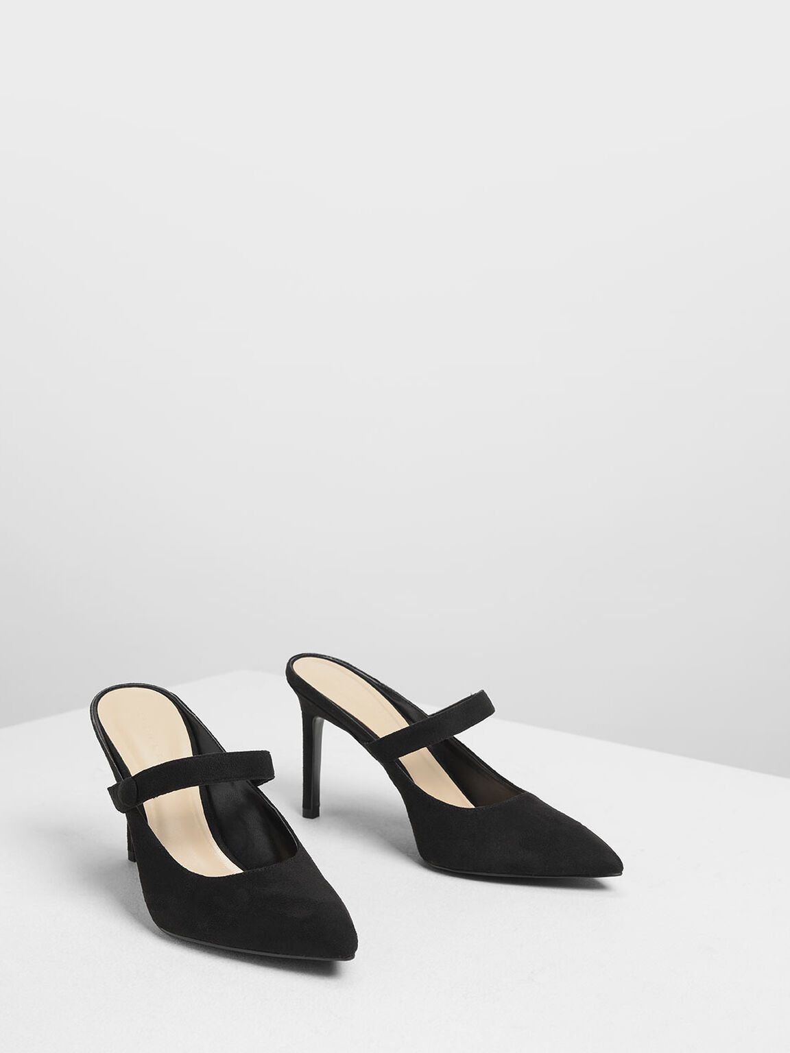 Mary Jane Mules, Black, hi-res
