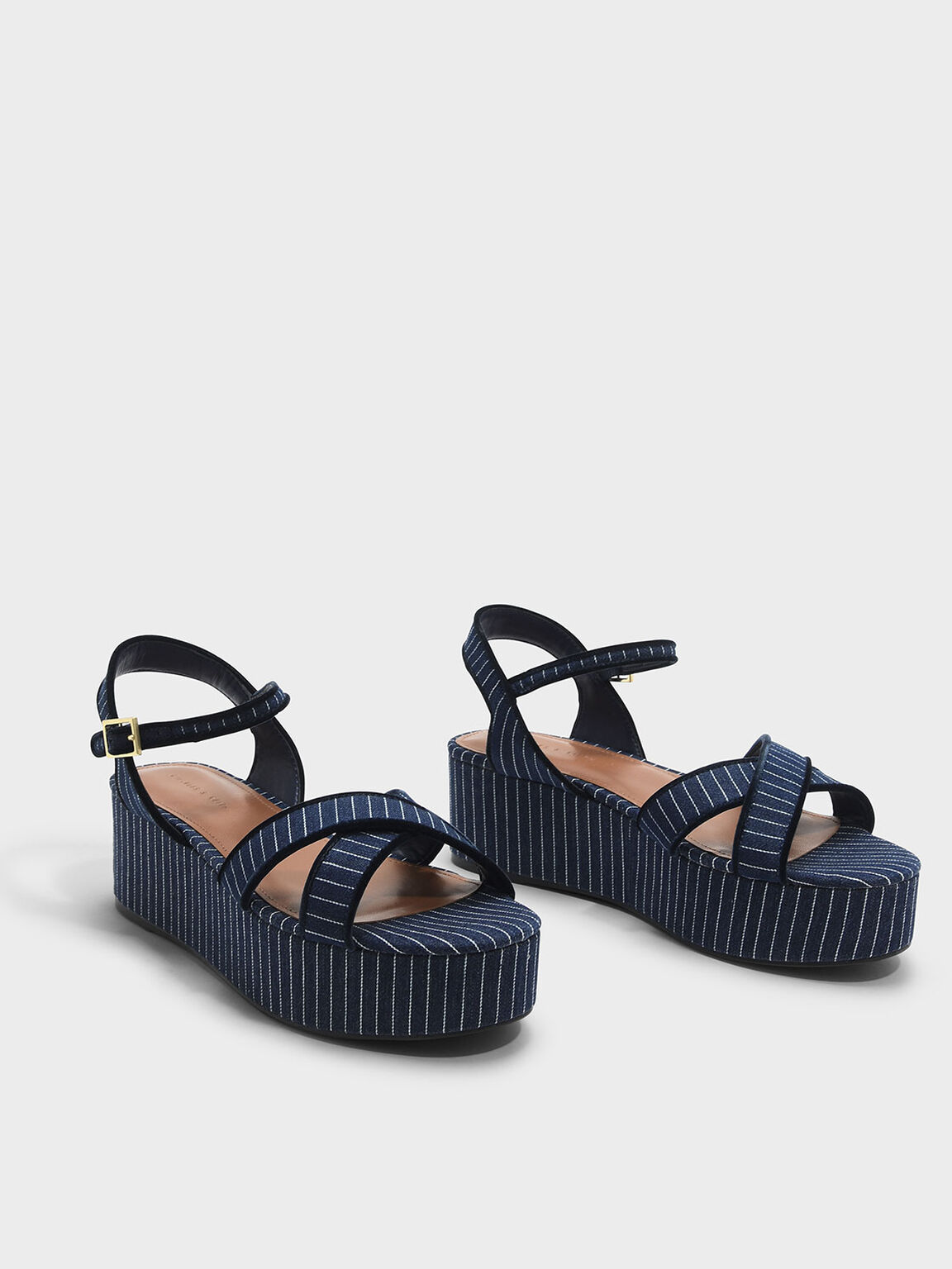 Crossband Flatforms, Blue, hi-res