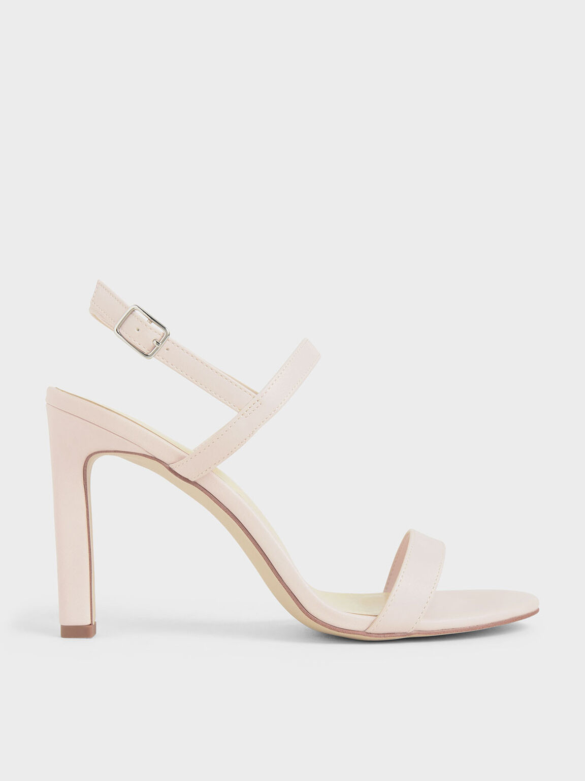 Slingback Stiletto Heel Sandals, Pink, hi-res