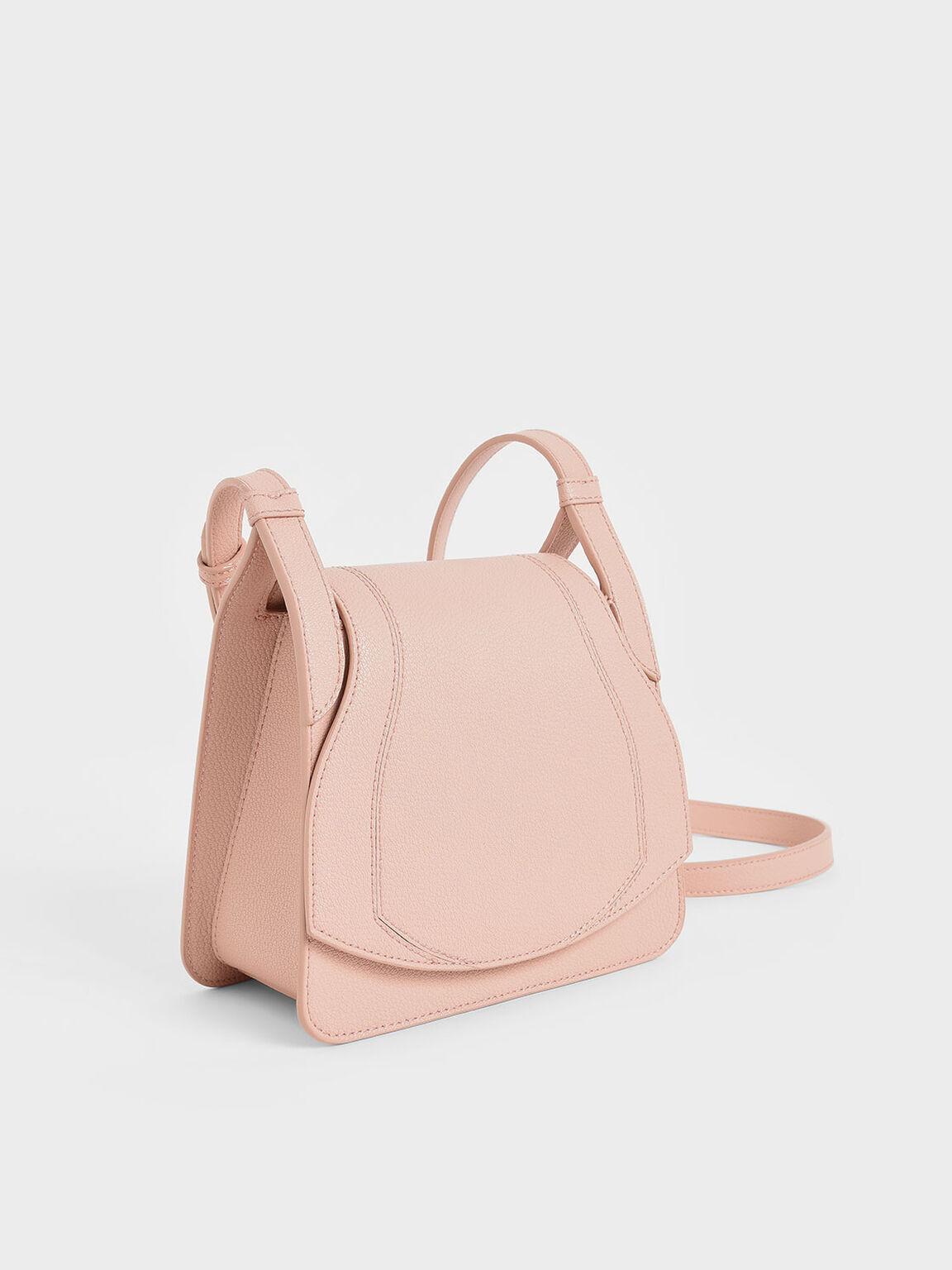 Small Crossbody Bag, Pink, hi-res