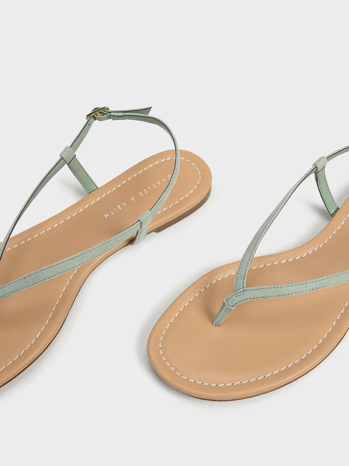 Classic Thong Sandals, Green, hi-res