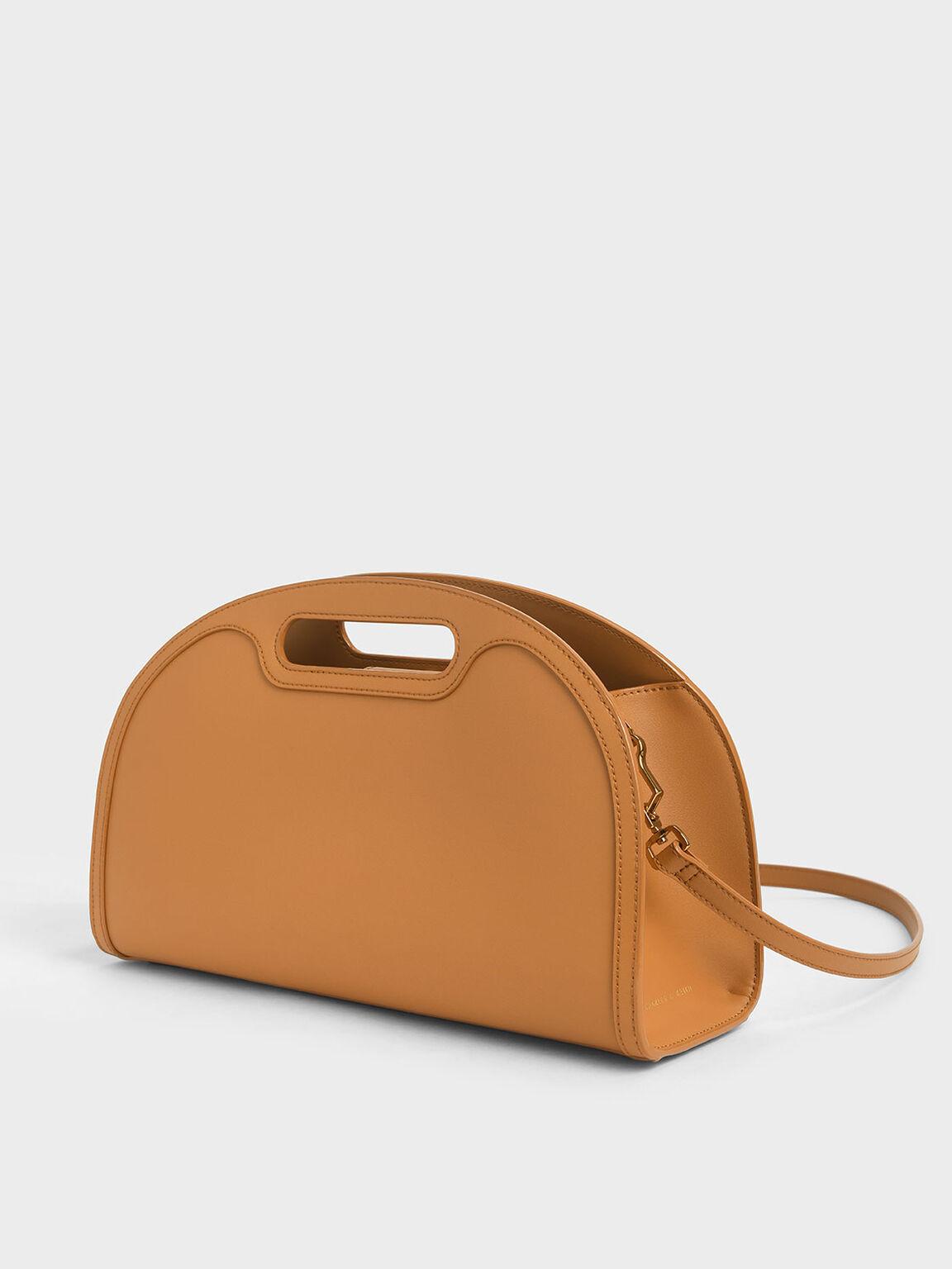 Elongated Tote Bag, Cognac, hi-res