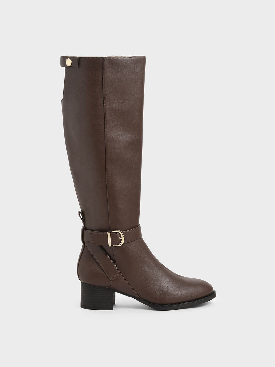Riding Boots, Brown, hi-res