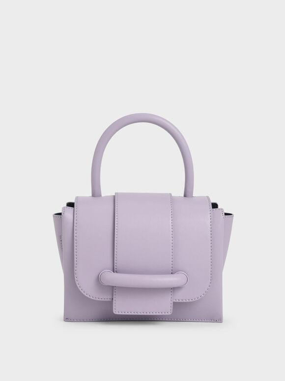 Chain Strap Mini Bag, Lilac, hi-res