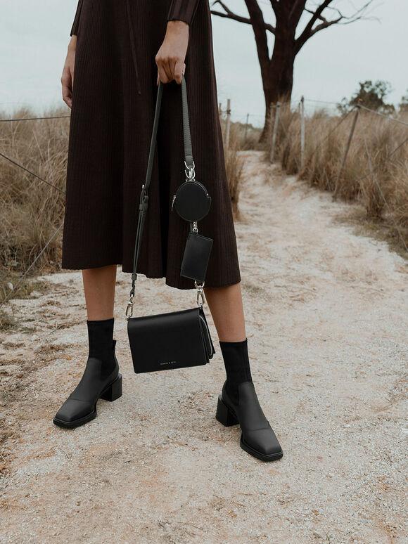 Multi-Pouch Crossbody Bag, Black, hi-res