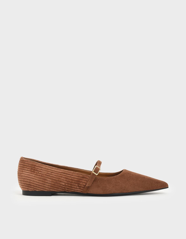 Pointed Toe Mary Jane Flats