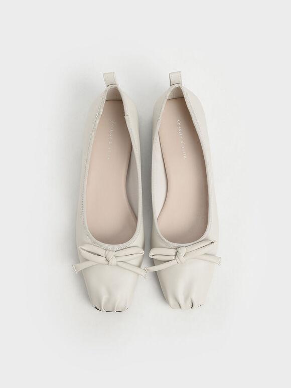 Bow Ballerinas, Chalk, hi-res