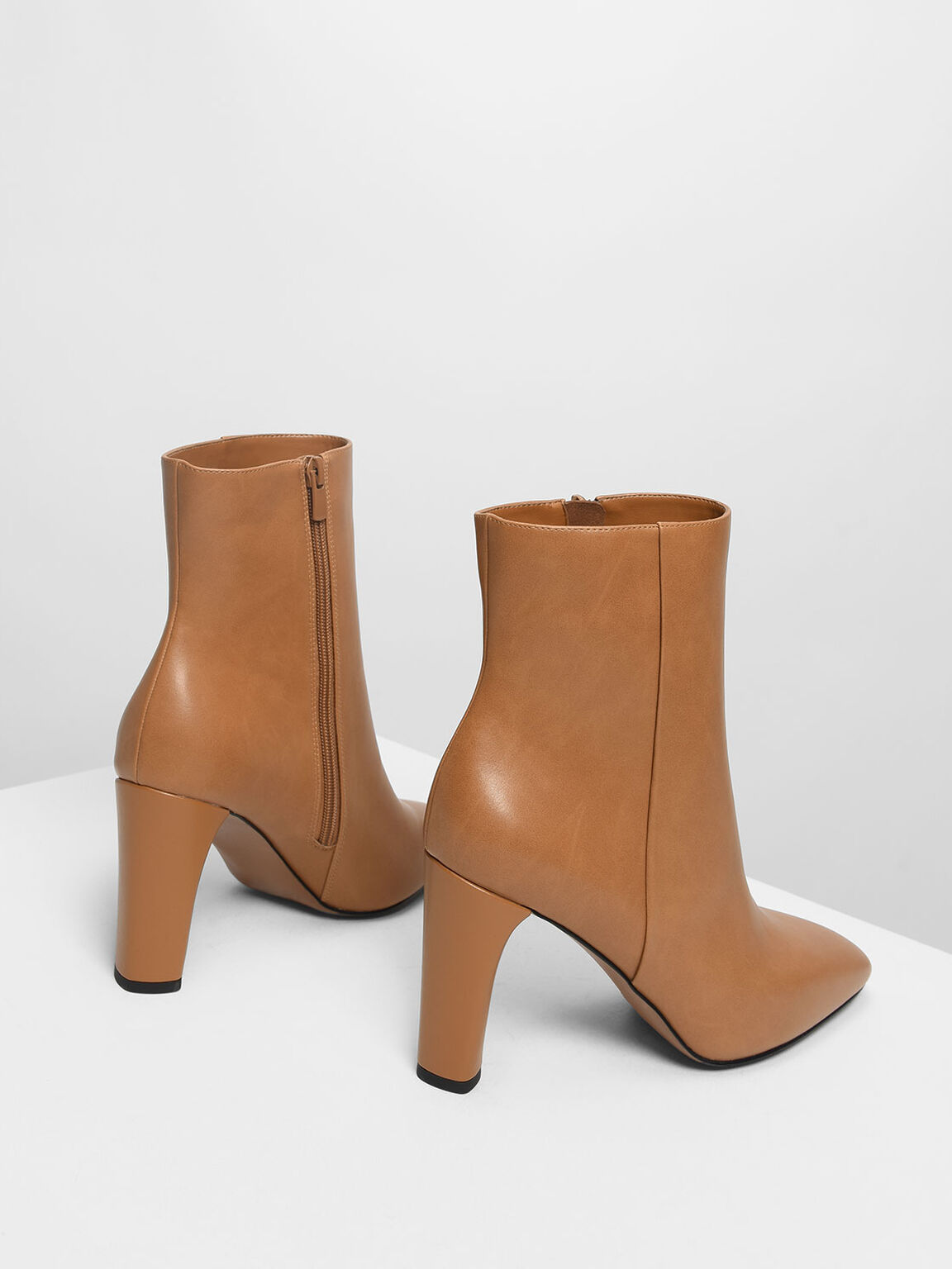 Classic Calf Boots, Cognac, hi-res