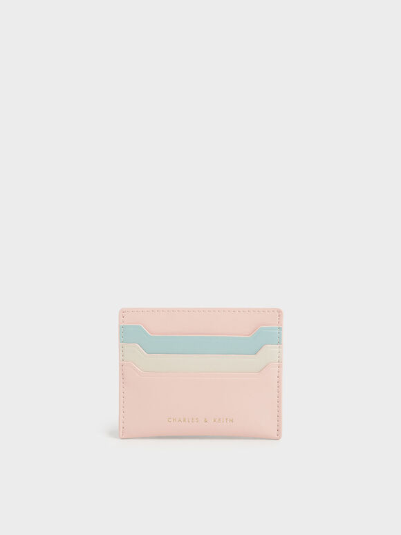 Multi-Slot Card Holder, Light Pink, hi-res