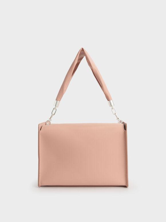 Slouchy Top Handle Bag, Blush, hi-res