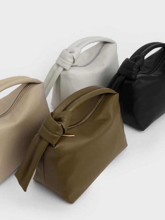 Slouchy Hobo Bag, Black, hi-res