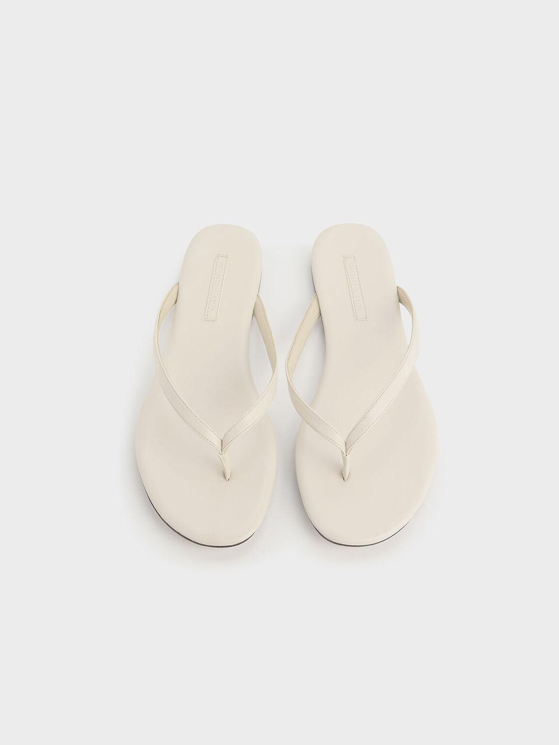 Thong Sandals, Chalk, hi-res