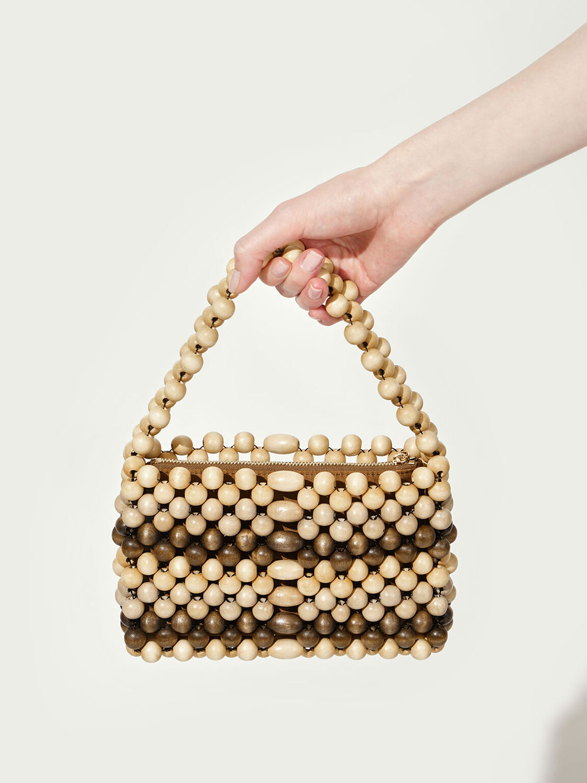 Mini Beaded Bag, Multi, hi-res