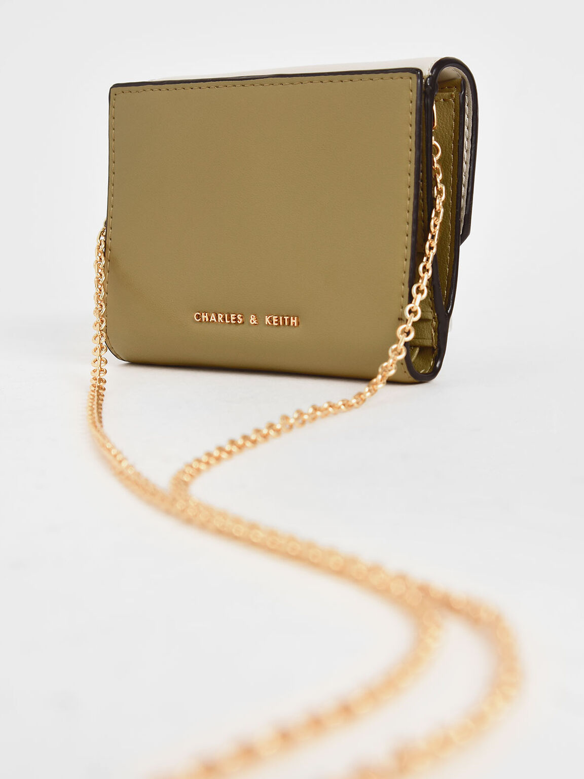Metallic Accent Mini Wallet, Multi, hi-res