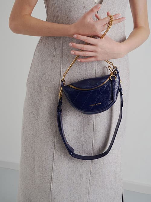 HALF-MOON CROSSBODY BAG