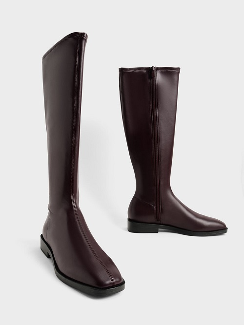 Knee High Flat Boots