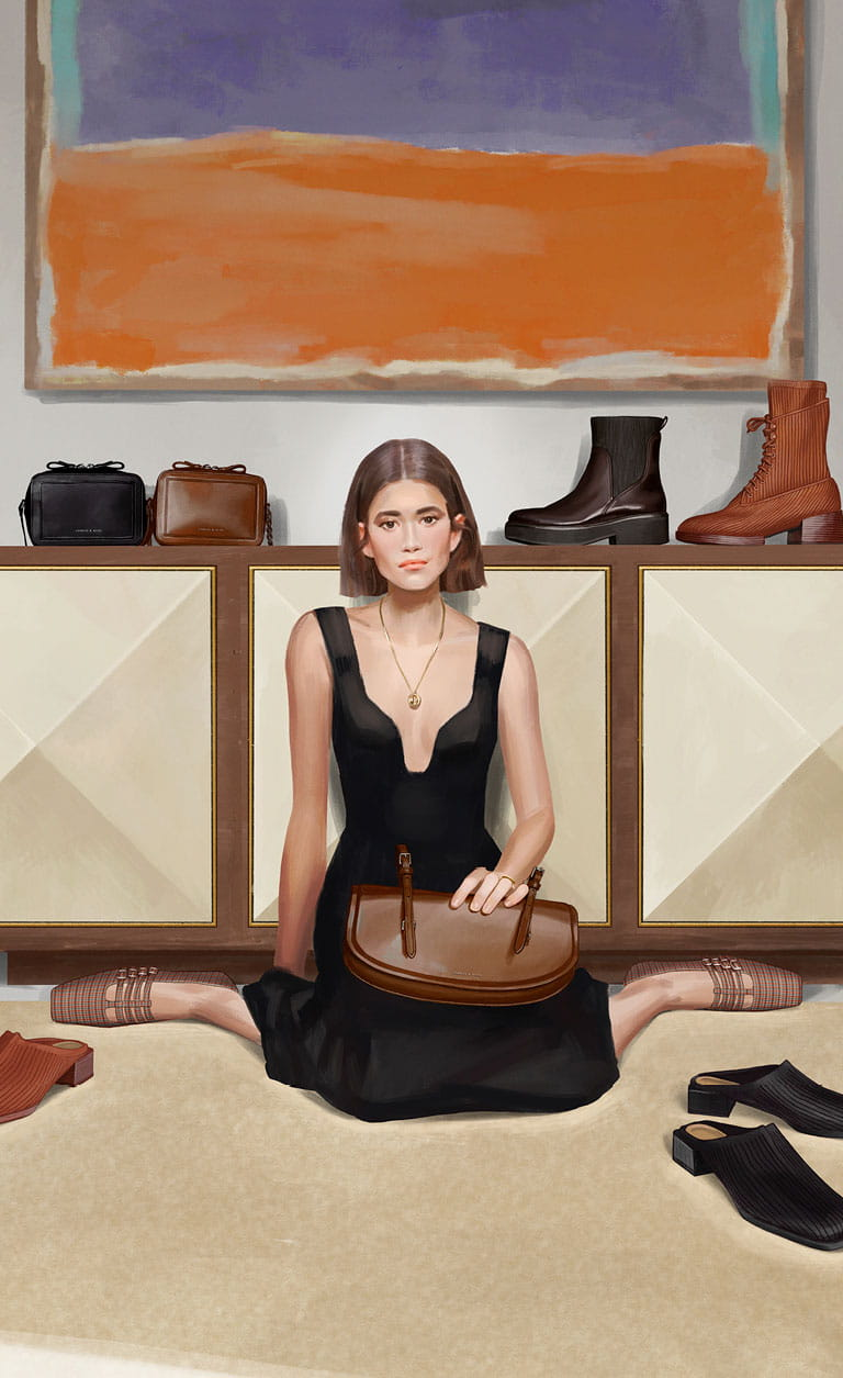 A compilation of illustrations from the CHARLES & KEITH Autumn Winter 2020 campaign - CHARLES & KEITH - Mobile