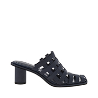 GROSGRAIN CAGED MULES