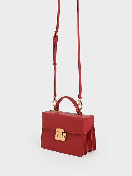 PUSH-LOCK BOXY BAG