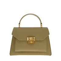 Stone-Embellished Geometric Bag