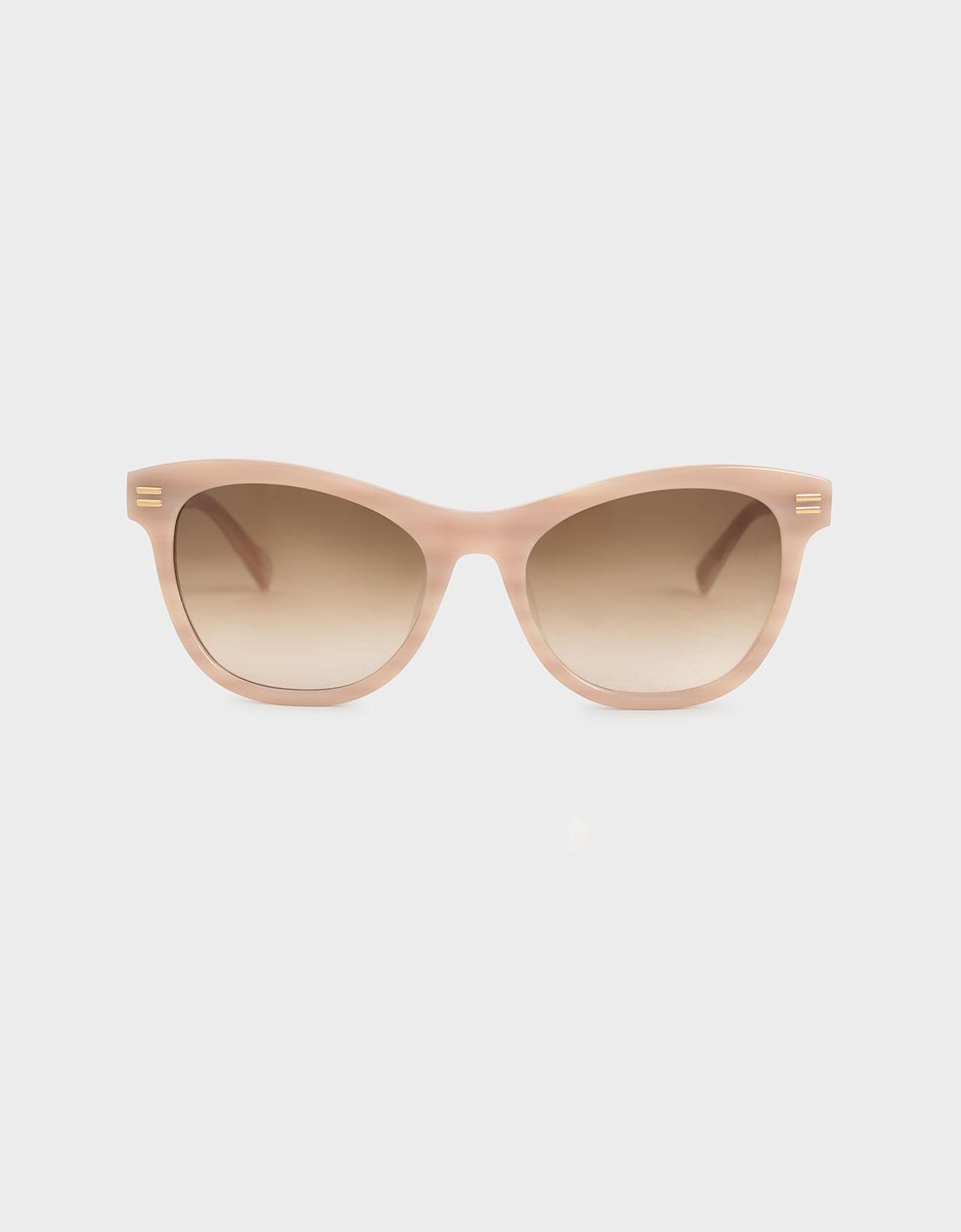 Acetate Rectangular Sunglasses
