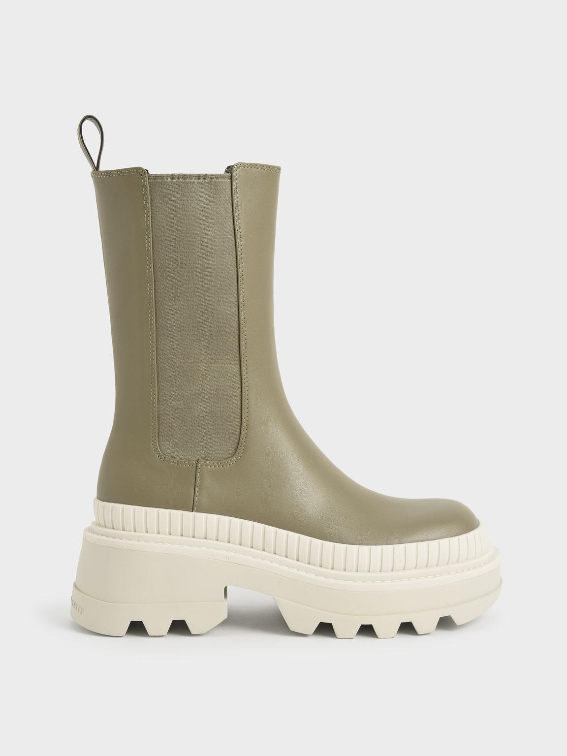 Rhys Chelsea Calf Boots