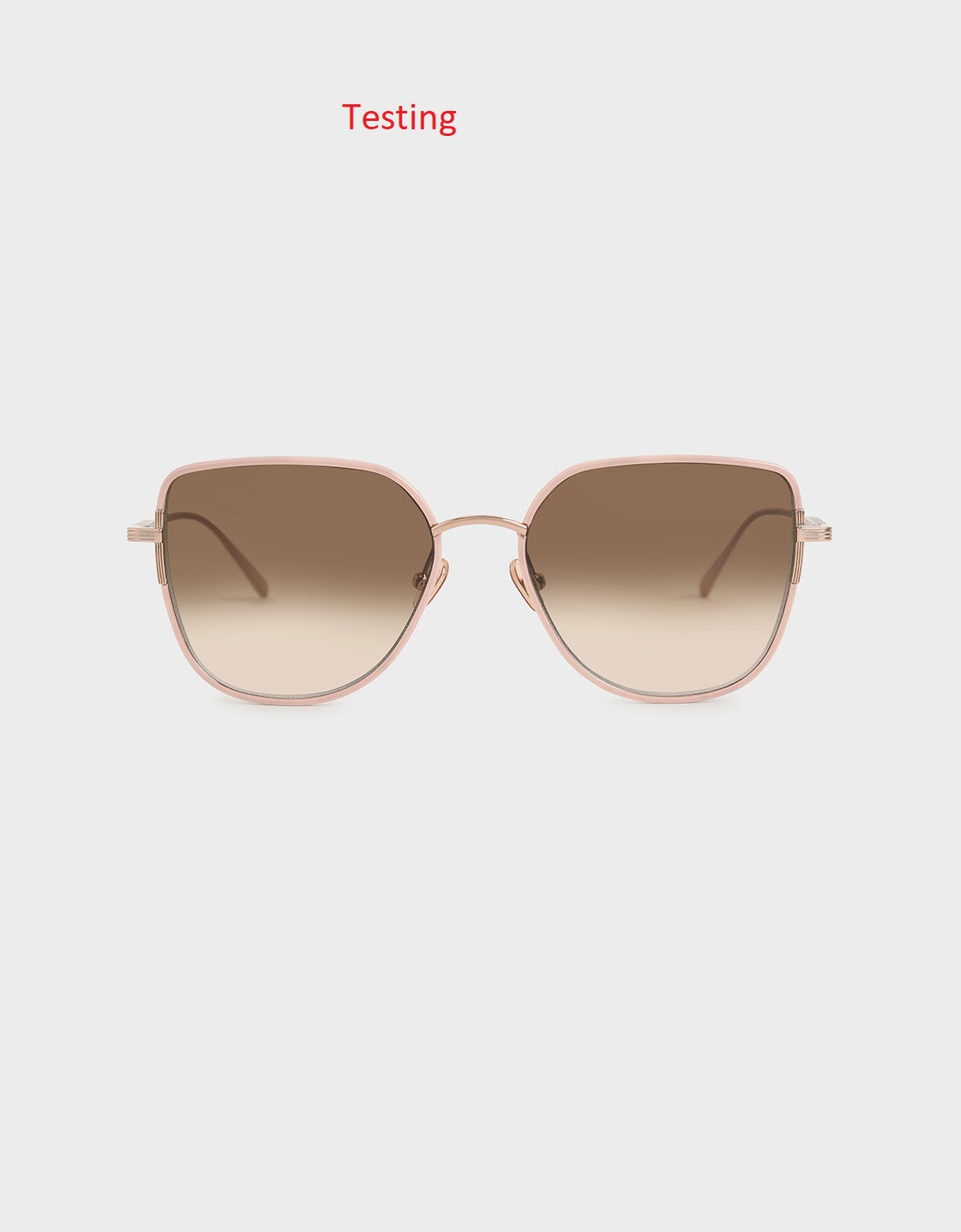Cut-Out Frame Butterfly Sunglasses